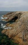 Küstenlinie nahe Quiberon, Bretagne, Frankreich Lizenzfreie Stockfotografie
