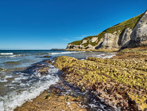 Küstenlinie in Nordirland Lizenzfreie Stockfotografie