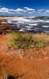 Küstenlinie, Ost-Kanada Lizenzfreies Stockbild