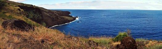 Küstenlinie panoramisch Lizenzfreie Stockfotos