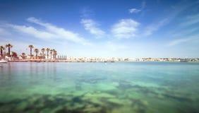 Küstenlinie Porto Cesareo in der ionischen Küste, Italien Lizenzfreie Stockfotografie