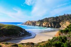 Küstenlinie Salz-Punkt-Kaliforniens USA Stockfoto