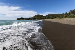 Küstenlinie-Schindel Stockfoto
