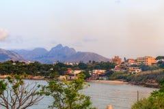 Küstenlinie von Bagheria Stockfoto