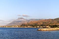 Küstenlinie von Bagheria Lizenzfreie Stockfotografie