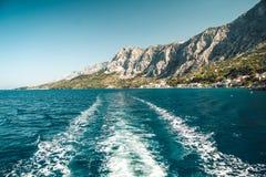Küstenlinie von Dalmatien Stockbilder