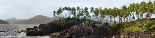 Küstenlinie von goa Stockfotos