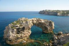 Küstenlinie von Majorca Lizenzfreies Stockfoto