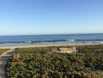Küstenlinie von schönem Montecito, Kalifornien stockfoto