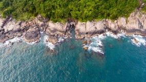 Küstenlinie von Vietnam Lizenzfreie Stockfotos