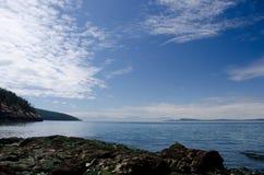 Küstenlinie an Washington-Park nahe grünem Punkt und Washington Pa Lizenzfreie Stockfotos