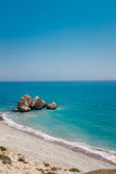 Küstenlinie Zypern Lizenzfreie Stockfotografie