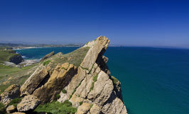 Küstenlinienentlastung Lizenzfreie Stockfotografie