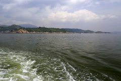 In Küstennähe von zhangzhou Stadt lizenzfreies stockfoto