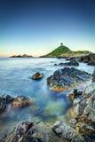 Küstensonnenaufgang Lizenzfreie Stockfotos