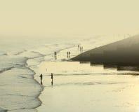 Küstensonnenuntergang Lizenzfreies Stockbild