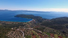 Küstenstadt von Akbuk, Mugla, die Türkei Lizenzfreie Stockfotos