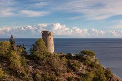 Küstenstadt von Nerja Lizenzfreie Stockbilder