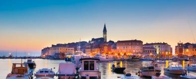 Küstenstadt von Rovinj, Istria, Kroatien. Lizenzfreie Stockfotografie