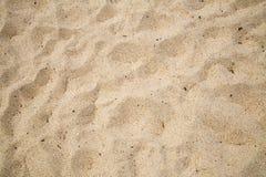 Küstenstrand-Sand Lizenzfreies Stockbild