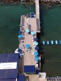 Küstenstrand in Sorrent lizenzfreies stockfoto