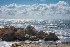 Küstensturm Lizenzfreies Stockbild