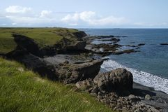 Küstenszene (Island) Stockbilder