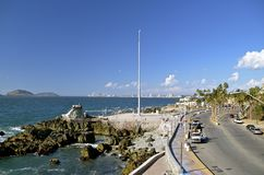 Küstenszene von Mazatlan, Mexiko Stockfotos