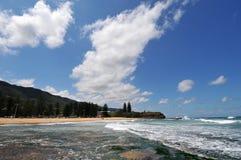 Küstenszenisches stockfoto