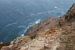 Küstenufer von Landstraße 1 in CA Lizenzfreie Stockfotografie