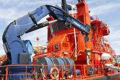 Küstenwache Rescue Ship Stockfotografie