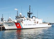 Küstenwache Ship stockfotografie