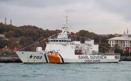 Küstenwache Ship Lizenzfreie Stockfotos