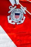 Küstenwache Sign Stockfotos
