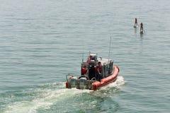 Küstenwache Vereinigter Staaten Vessel 5 Stockfotografie