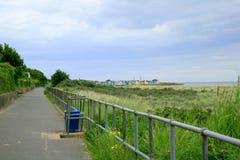 Küstenweg Stockfoto