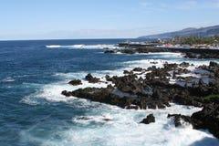 Küstenwellen Stockfotografie