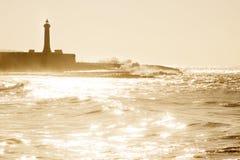 Küsteszene Stockfotos