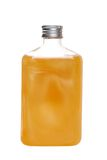 kąpać się butelki bąbla wanilii obraz stock