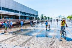 Kąpać się w fontannie 02 Zdjęcie Stock
