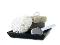 kąpań mydła zdjęcie royalty free