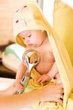 kąpiel dzieci Zdjęcie Royalty Free