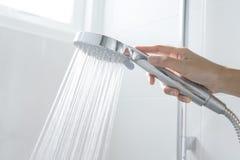 Kąpielowa prysznic zdjęcia royalty free