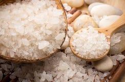 Kąpielowa sól. zdjęcia royalty free