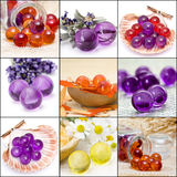 kąpielowe inkasowe perły Fotografia Stock