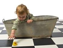 kąpielowej chłopiec stara zakładka zdjęcia royalty free