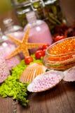 kąpielowej soli zdroju dostawy Zdjęcie Royalty Free