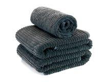 kąpielowi ręczniki zdjęcie royalty free
