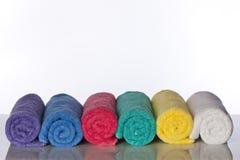 kąpielowi ręczniki obrazy stock