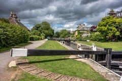 Kąpielowy Somerset kanał, kędziorek i Zdjęcie Royalty Free